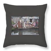 The River, Panana Throw Pillow