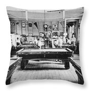 Panama Ymca C1910 Throw Pillow