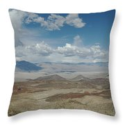 Panamint Valley Throw Pillow