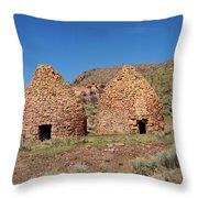 Pananca Summit Charcoal Kilns Throw Pillow