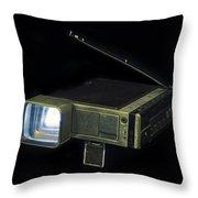 Panasonic Portable Tv Throw Pillow
