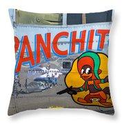 Panchito Throw Pillow