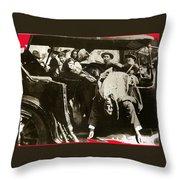Pancho Villa Ambushed July 20 1923 1923 Dodge Touring Car 1923-2013 Throw Pillow