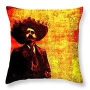 Pancho Villa Throw Pillow