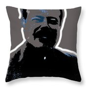 Pancho Villa Portrait Unknown Location Or Date-2013 Throw Pillow