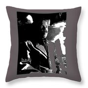 Pancho Villa Press Photo El Paso Texas 1913-2013 Throw Pillow