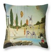 Pane Et Circenses Throw Pillow