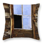 Panes Of Yesteryear Throw Pillow