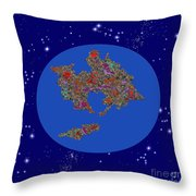 Pangea Ultima Throw Pillow