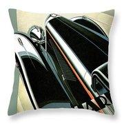 Panhard Throw Pillow