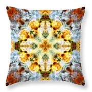 Panorama Carina Nebula V Throw Pillow