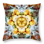 Panorama Carina Nebula Vi Throw Pillow