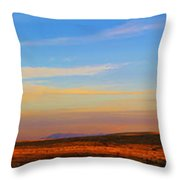 Panorama City Of The Rocks Look Out Mountain Throw Pillow