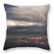Panorama Clearing Summer Storm Bryce Canyon National Park Utah Throw Pillow