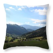 Panorama Throw Pillow