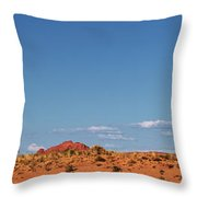 Panorama Hoodoos Goblin Valley State Park Utah Throw Pillow