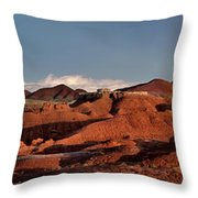 Panorama Of Goblin Valley State Park Utah Throw Pillow