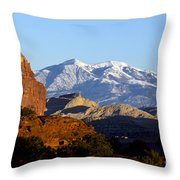 Panorama Point Capitol Reef National Park Utah Throw Pillow