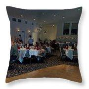 Panorama Wedding Throw Pillow