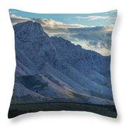 Panoramic Image Of Royal Mountain Throw Pillow
