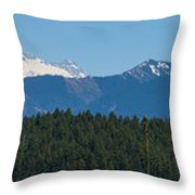 Panoramic Rainier Rt.25 Throw Pillow