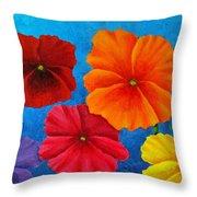 Pansies For Rosalina Throw Pillow