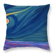 Panspermia 2 Throw Pillow