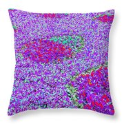 Pansy Power 69 Throw Pillow