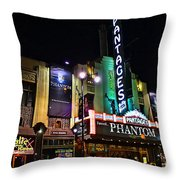 Pantages Theater Throw Pillow