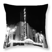 Pantages Theatre Throw Pillow