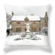 Pantasaph Friary Throw Pillow