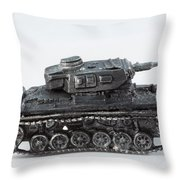 Panzer Miniature Throw Pillow