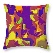 Paper Cuts Throw Pillow