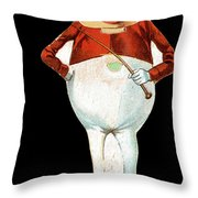 Paper Doll, C1895 Throw Pillow