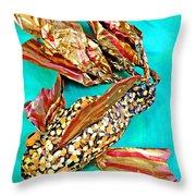 Paper Fish Throw Pillow