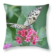 Paper Kite Butterfly - 2 Throw Pillow