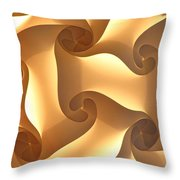 Paper Lantern Abstract Throw Pillow