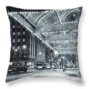 Paper Valley Throw Pillow