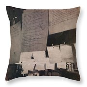 Papers 2 Throw Pillow
