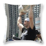 Parade Of Champions Throw Pillow