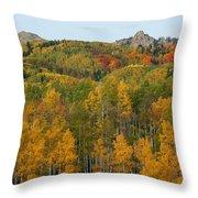 Paradise Autumn Throw Pillow