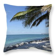 Paradise - Key West Florida Throw Pillow