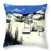 Paradise Bowl Throw Pillow