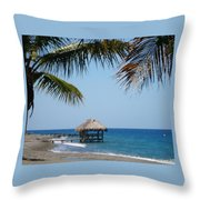 Paradise Escape Throw Pillow