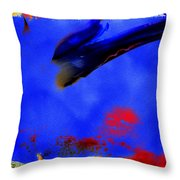 Paradise Is A Bird Throw Pillow
