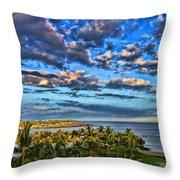 Paradise Is Nice By Diana Sainz Throw Pillow