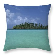 Paradise Island 2 Throw Pillow