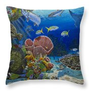 Paradise Re0012 Throw Pillow
