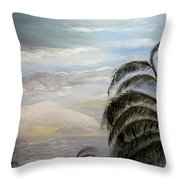 Paradise Sky Throw Pillow