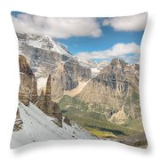 Paradise Valley - Banff National Park - Canada Throw Pillow